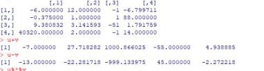 Ejercicio básico R: Comandos básicos y operaciones con vectores y matrices.