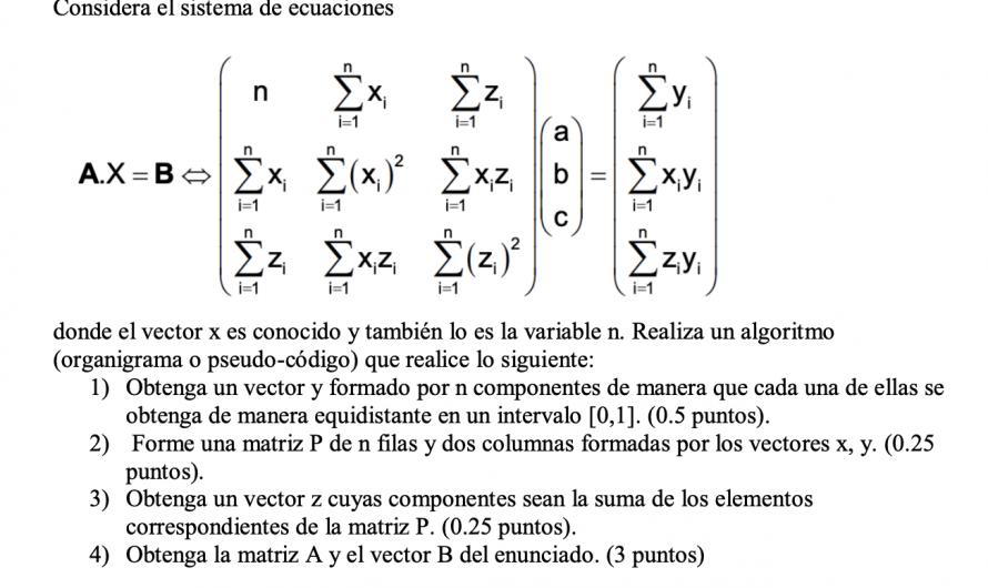 Ejercicio 2 algoritmia examen 20/11/2020