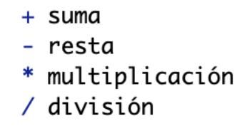 Apuntes de comandos básicos en R