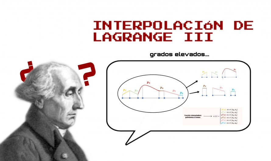 Interpolación de Lagrange III – Apuntes