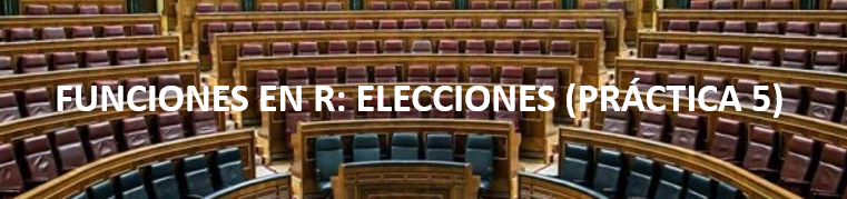Ejemplo de funciones en R: sistema electoral d'Hondt