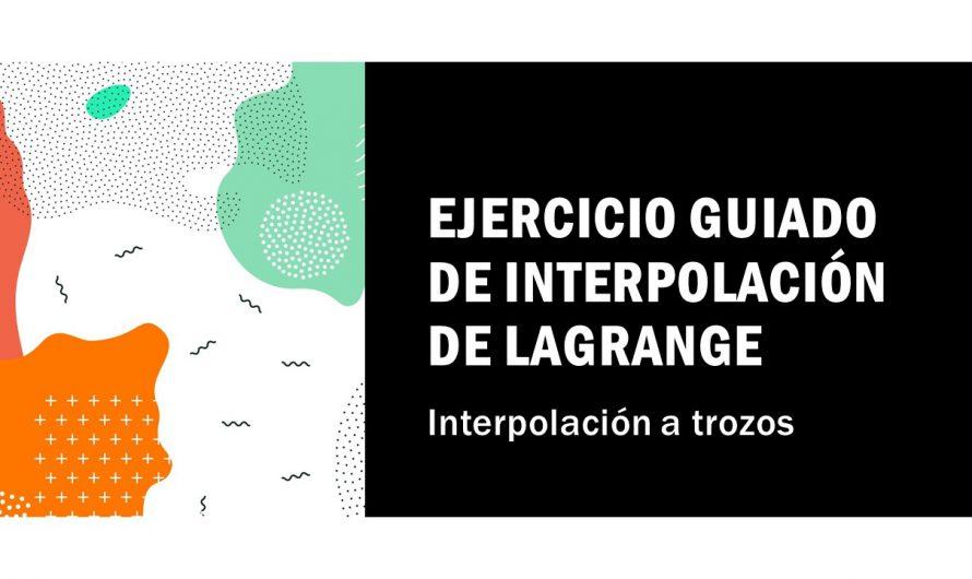 Ejercicio: Interpolación a trozos